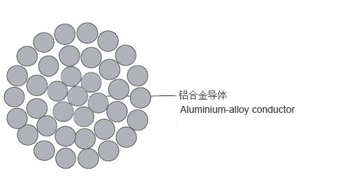 AAAC ASTM-B All Aluminium Alloy Conductor