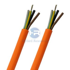 H05BQ-F Rubber PUR Industrial Cable 300 500V