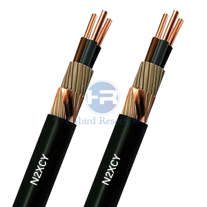 N2XCY -J -O XLPE Screen PVC Power Cable