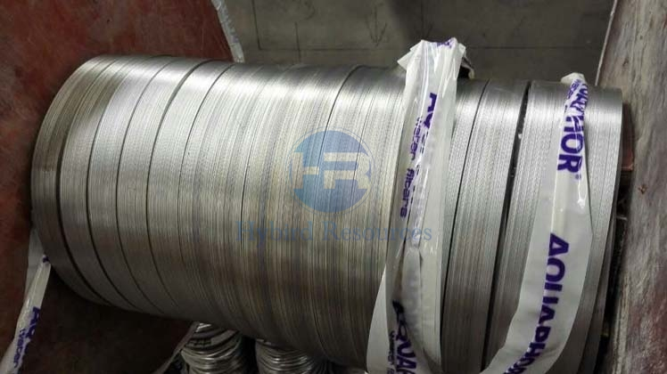 lead covered copper earthing tape drum